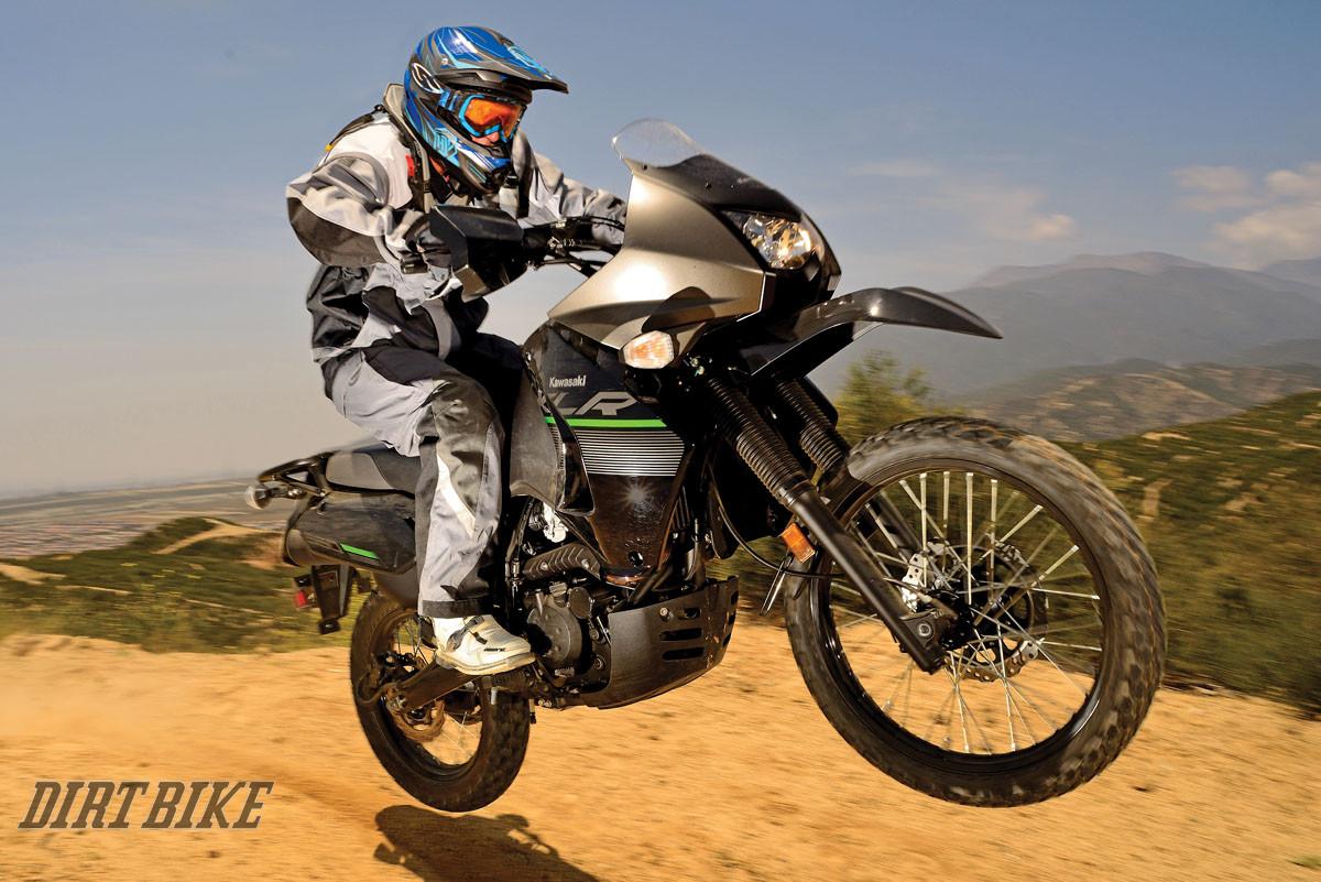 KAWASAKI KLR650 Dirt Bike Magazine 1200x801