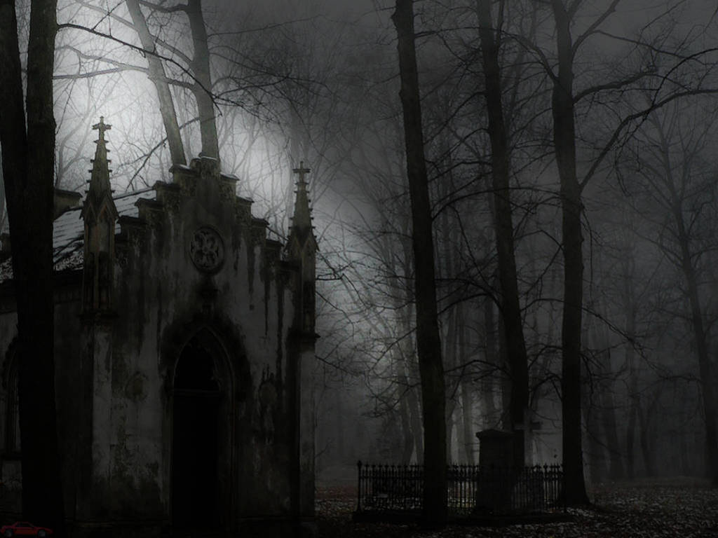 8KDE3 Gothic Horror The Woman in Be Outstanding 1024x768