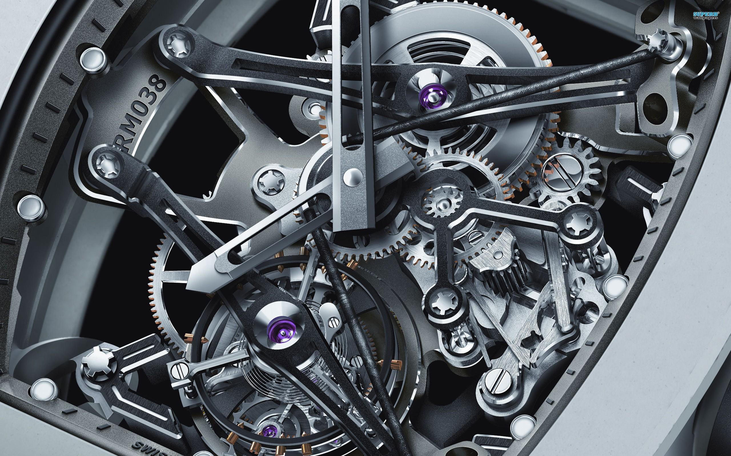 Watch Mechanism Wallpaper 00505   Baltana 2560x1600