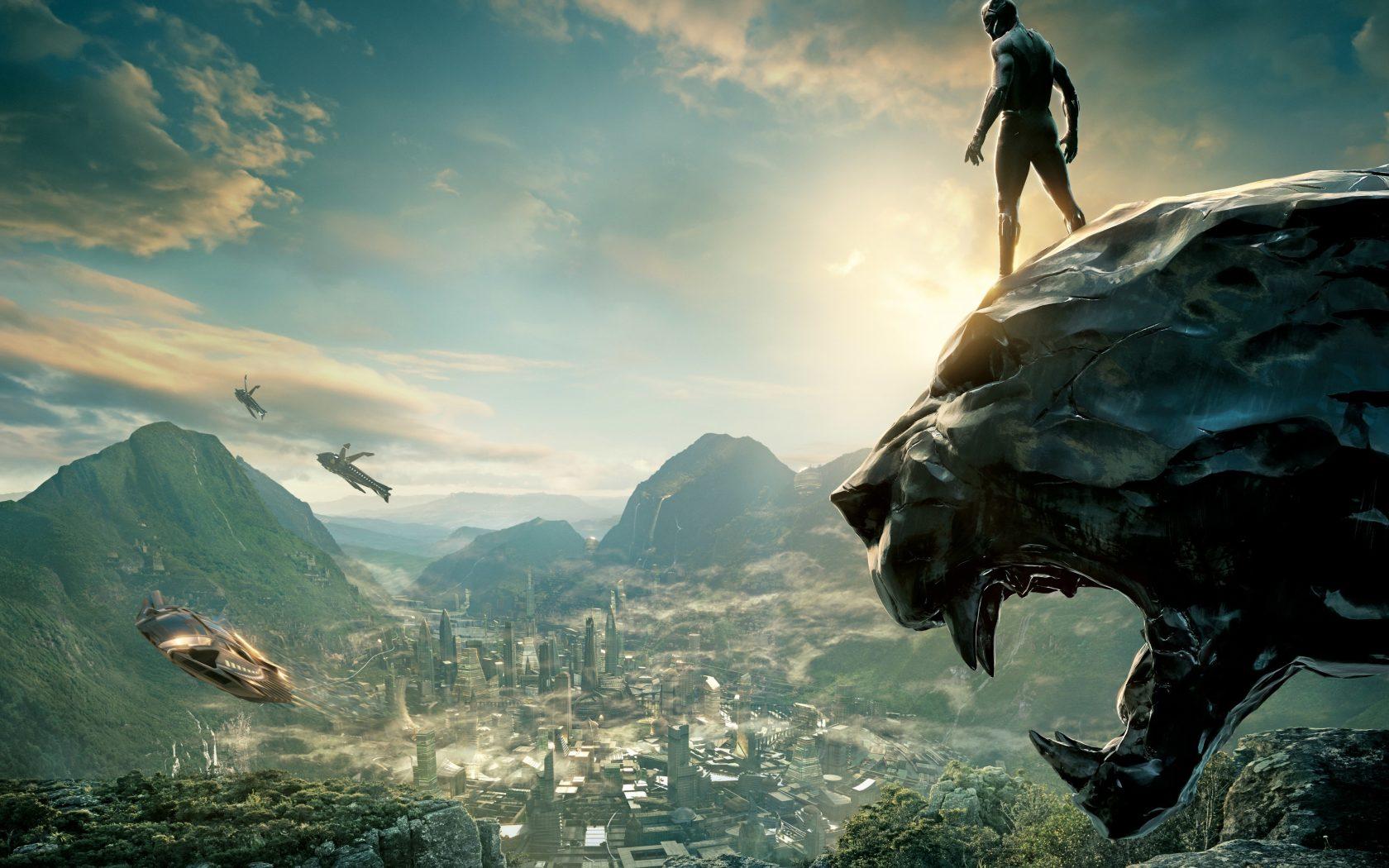Black Panther 2018 Wallpaper Download For Desktop in HD 4K 1680x1050