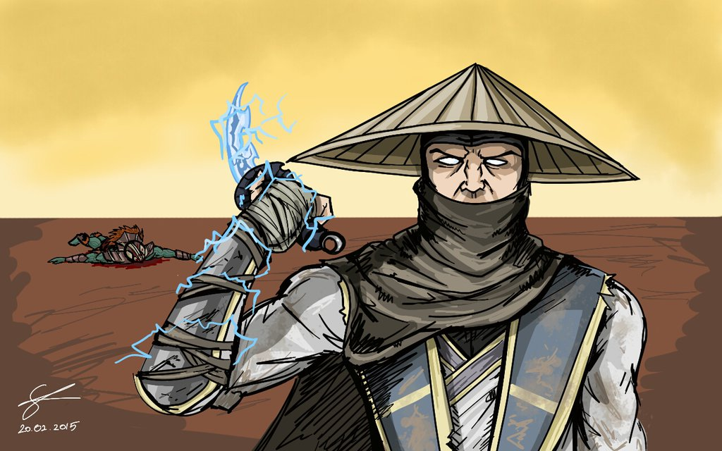 Raidens Alternate Costume idea MKX by Koldoom 1024x640