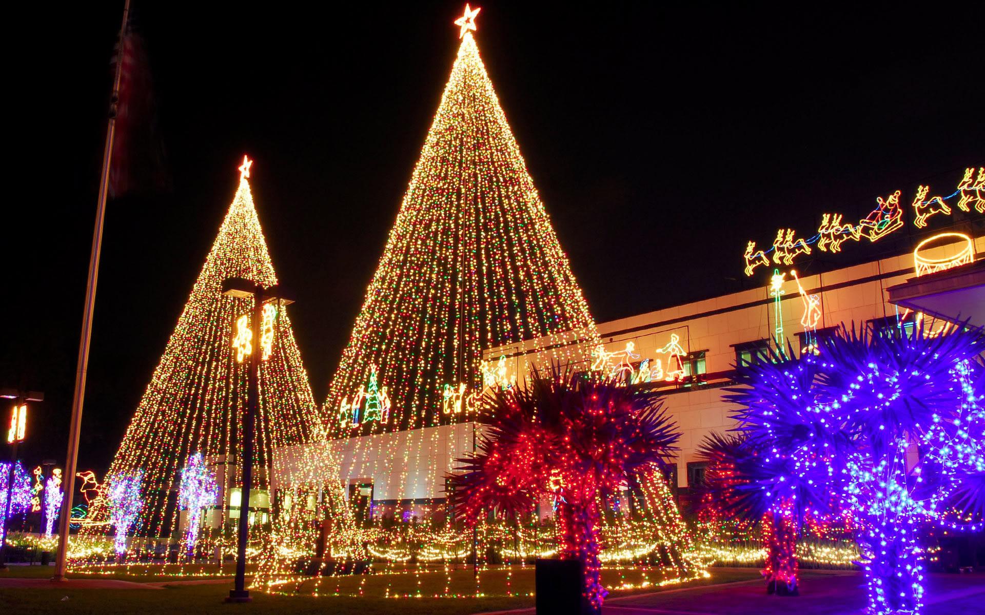 animated christmas lights wallpaper wallpapersafari