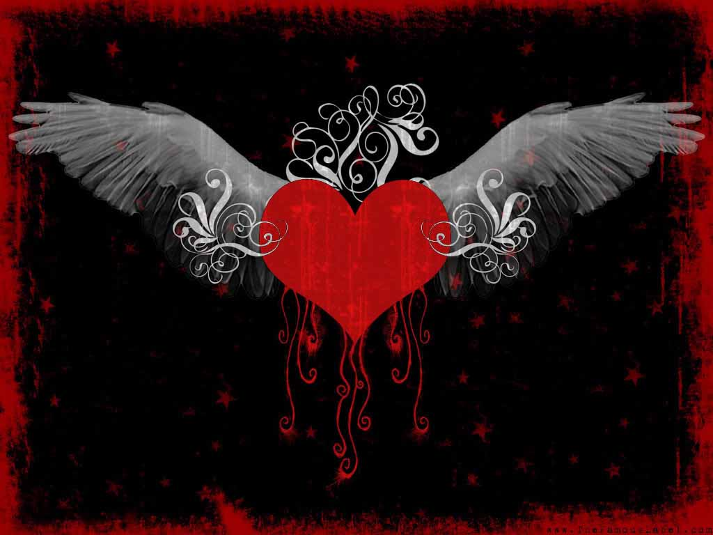 Emo Love Desktop Backgrounds 1024x768