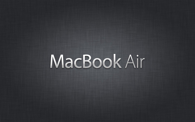 MACBOOK PRO MACBOOK AIR NAMES WALLPAPERS 13 Inch MacBook Air 1440x900