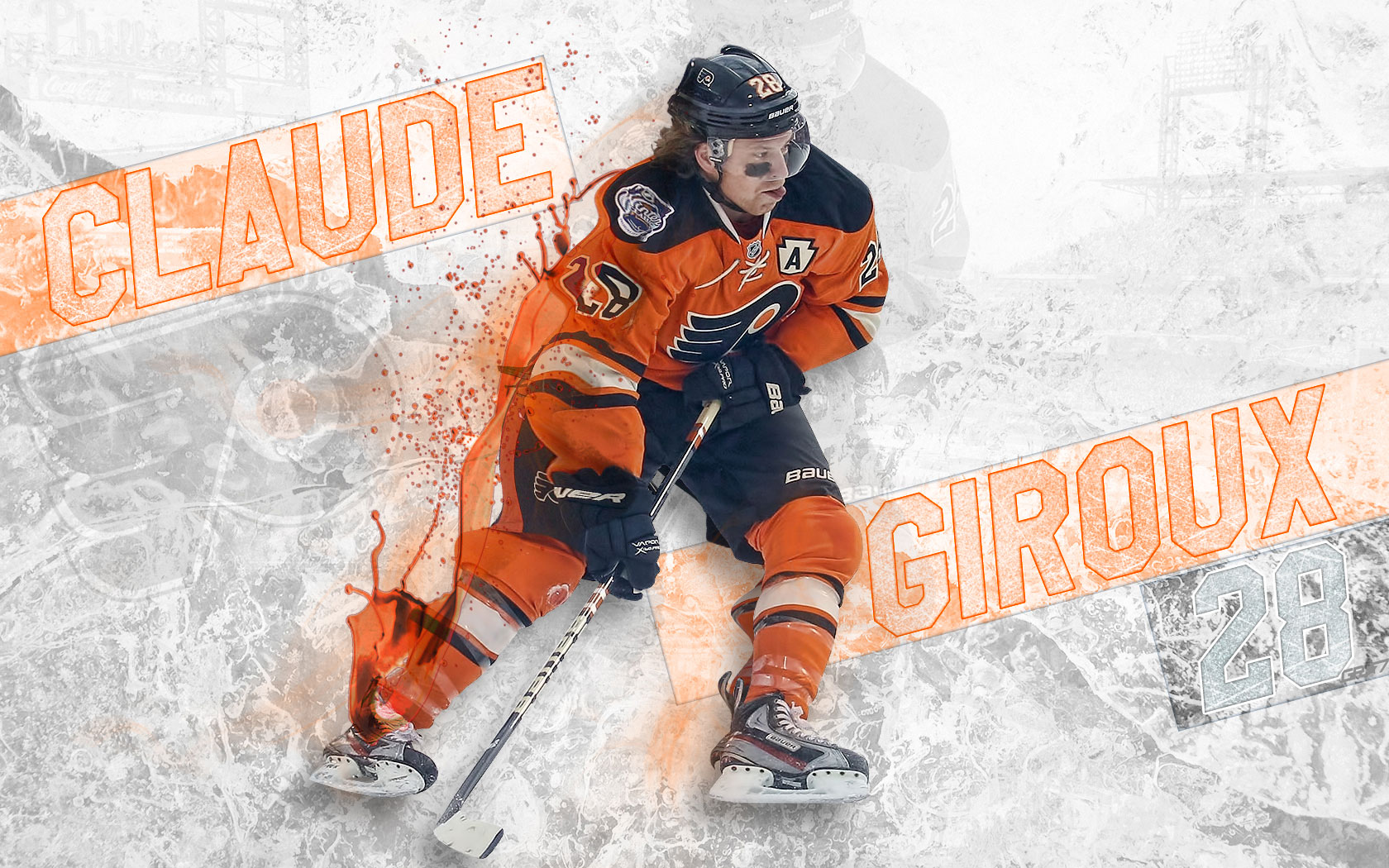 NHL Wallpapers   Claude Giroux Philadelphia Flyers 1680x1050 wallpaper 1680x1050