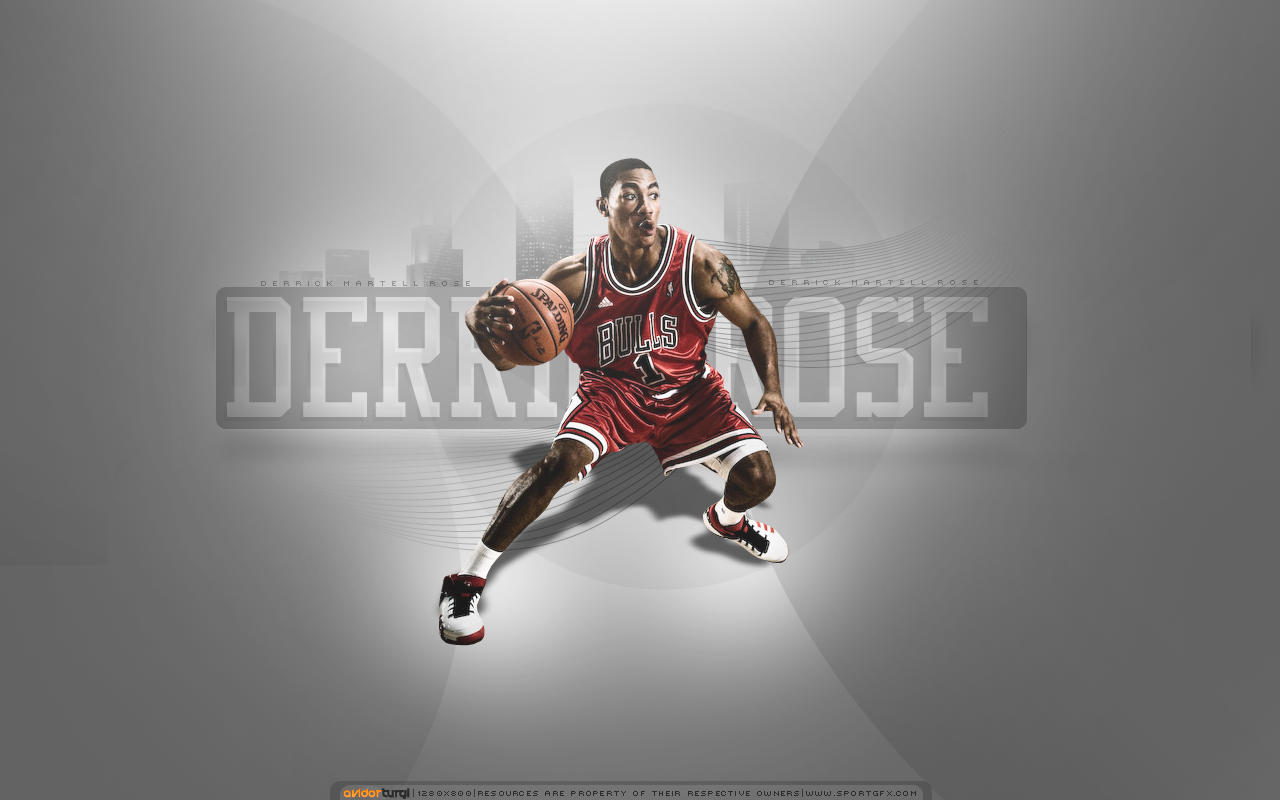 Logos For Derrick Rose Logo Wallpaper 1280x800