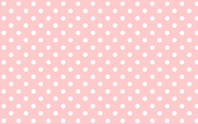 light pink polka dot wallpaper 800x500
