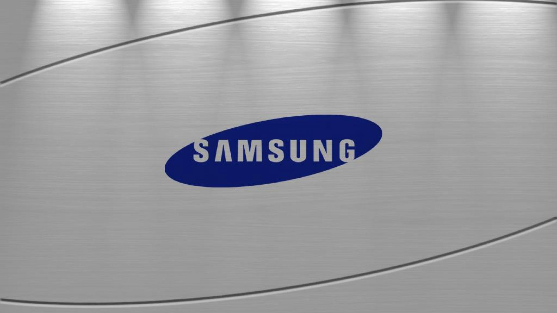 Samsung Logo on Brushed Metal   1920x1080   Full HD 169 1920x1080