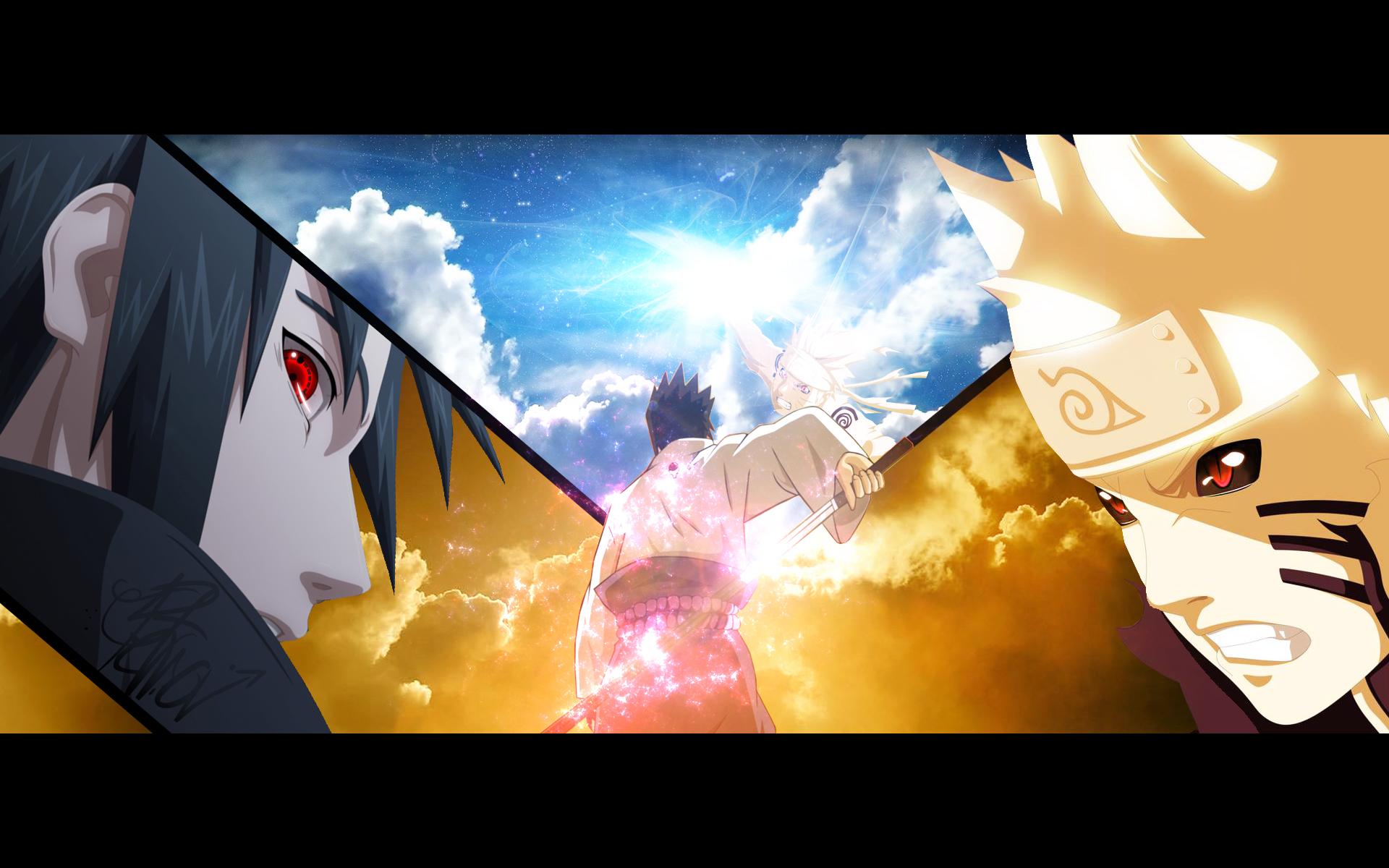 Naruto Vs Sasuke Wallpapers   wallpaper, wallpaper hd, background ...