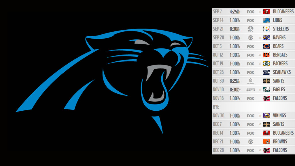 2014 Wallpapers Carolina Panthers by reyiracom 1024x576
