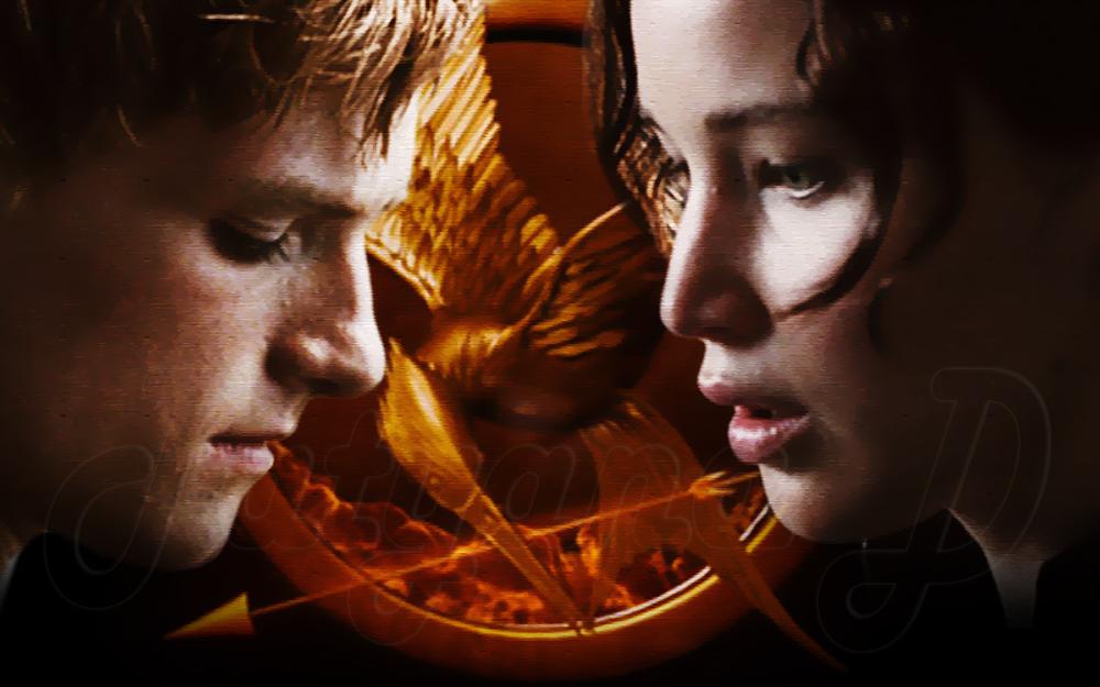 Peeta Mellark and Katniss Everdeen   Peeta Mellark and Katniss 1000x625