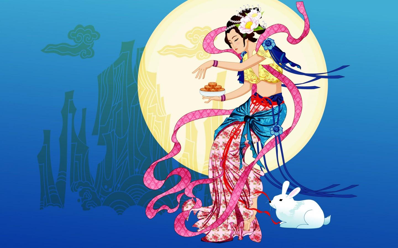 Moon Goddess   2   Wallpapers   FreezeWall 1440x900
