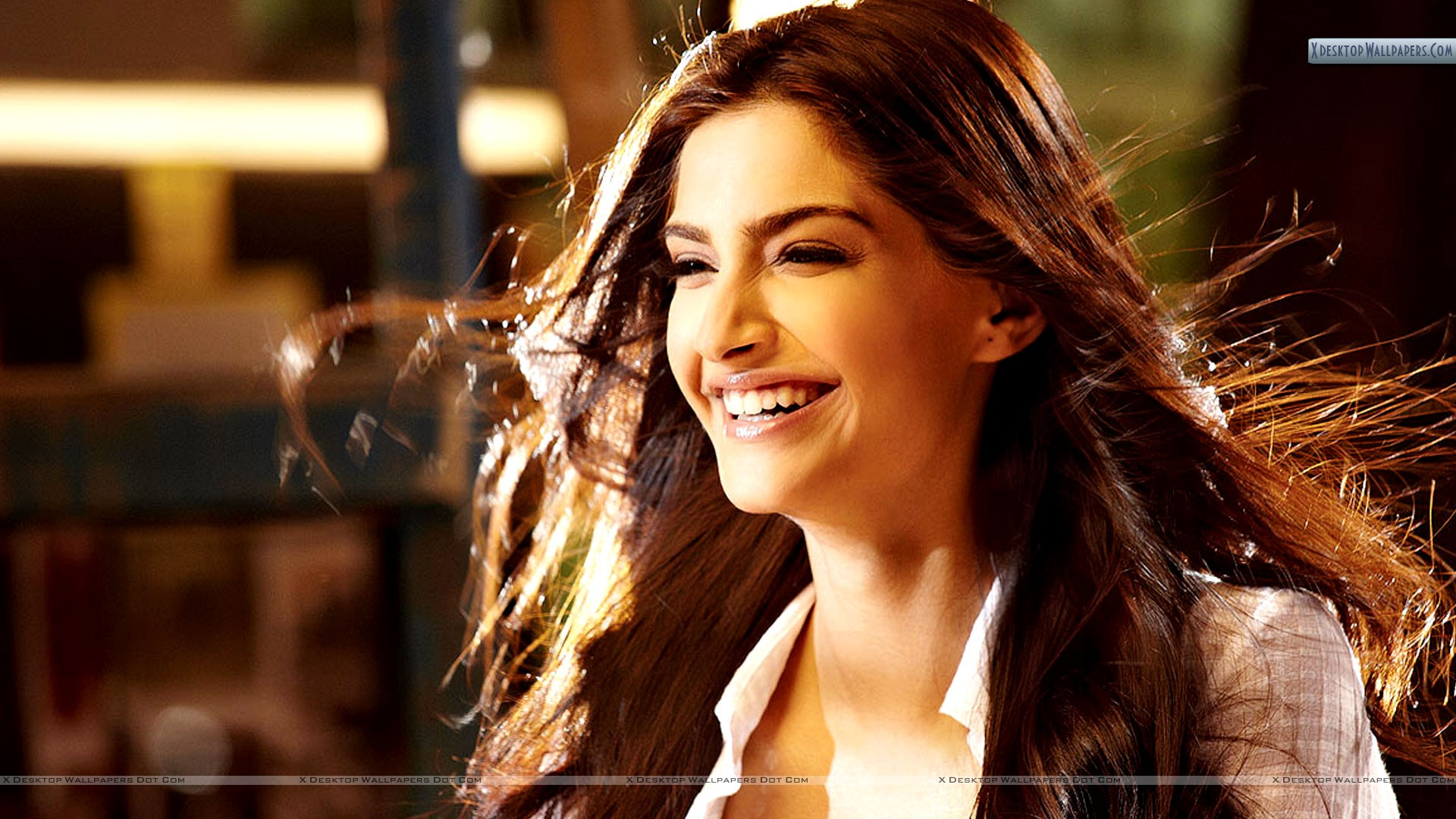 Sonam Kapoor Laughing In I Hate Luv Storys Wallpaper 1920x1080