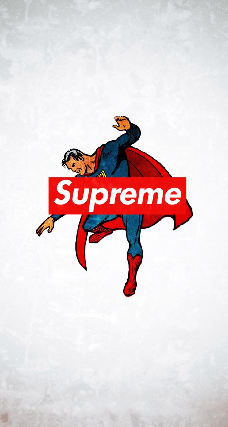 Supreme Trend Logo Film Art iPhone se Wallpapers Download 744x1392