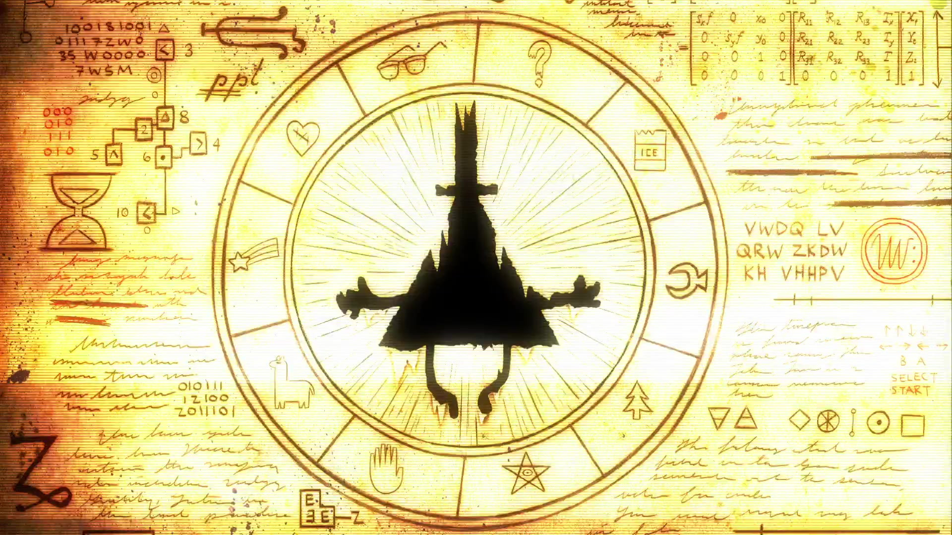 Gravity Falls Bill Cipher Wallpaper 80 images 1920x1080