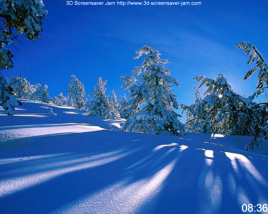 White Winter Screensaver   This image is one of the many one that will 900x720