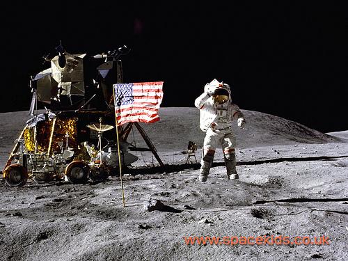 Spacekids Apollo 17 moon mission wallpaper Flickr   Photo Sharing 500x375
