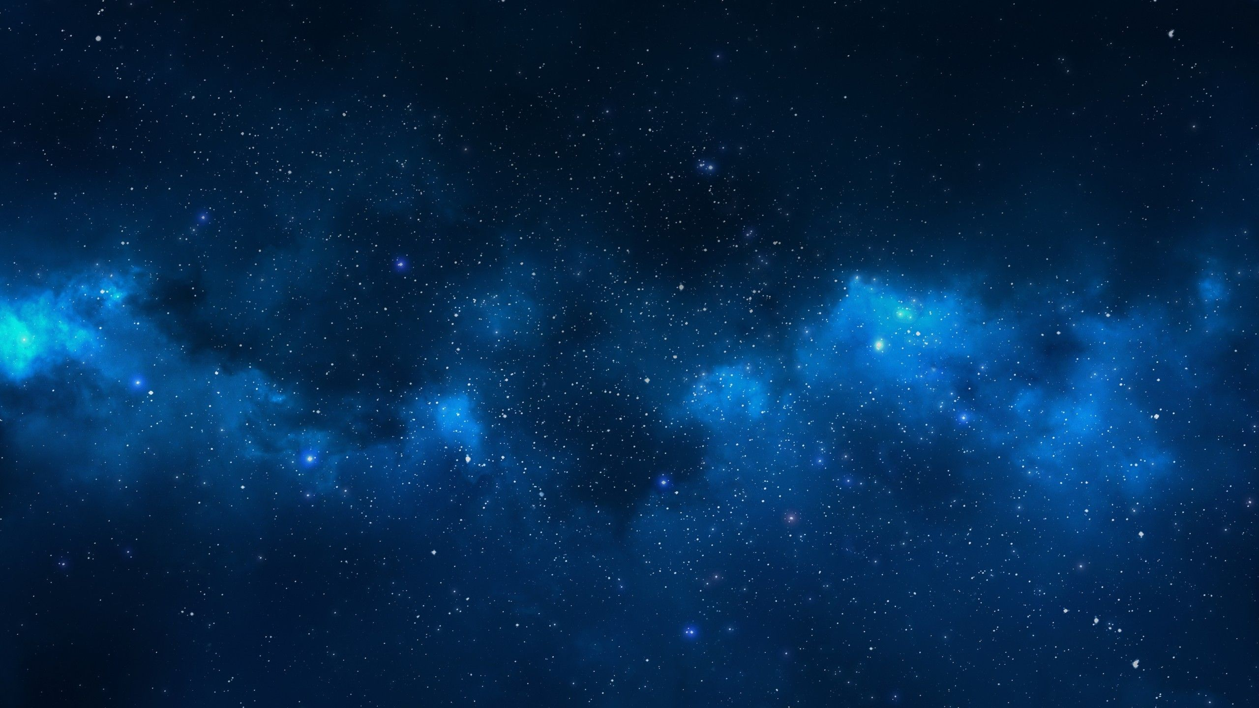 Blue Galaxy Stars Wallpaper page 2   Pics about space gh 2560x1440