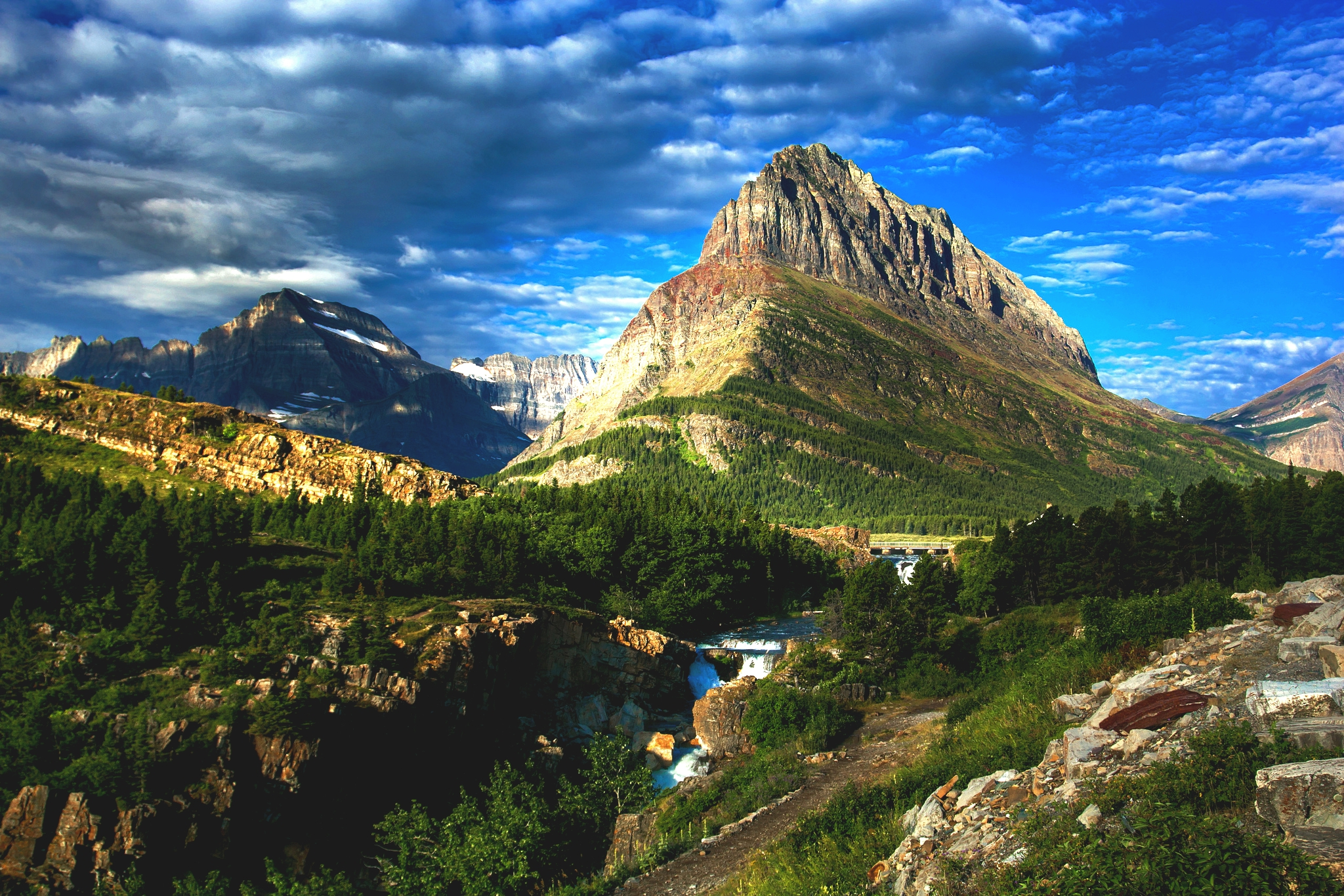 Glacier National Park Desktop Wallpapers   HD Wallpapers Backgrounds 2048x1365