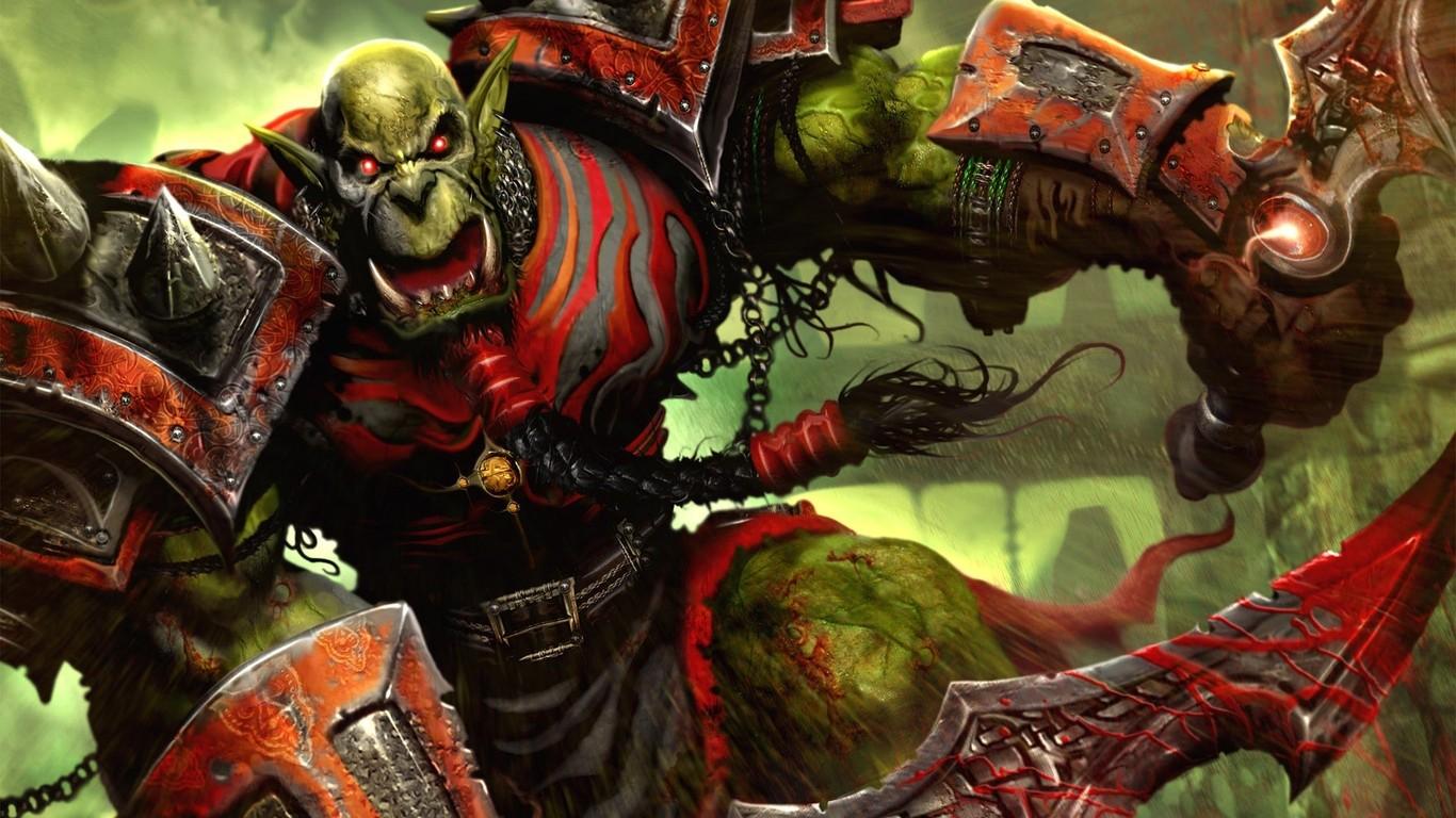 Pics Photos   World Of Warcraft Orc 1366x768