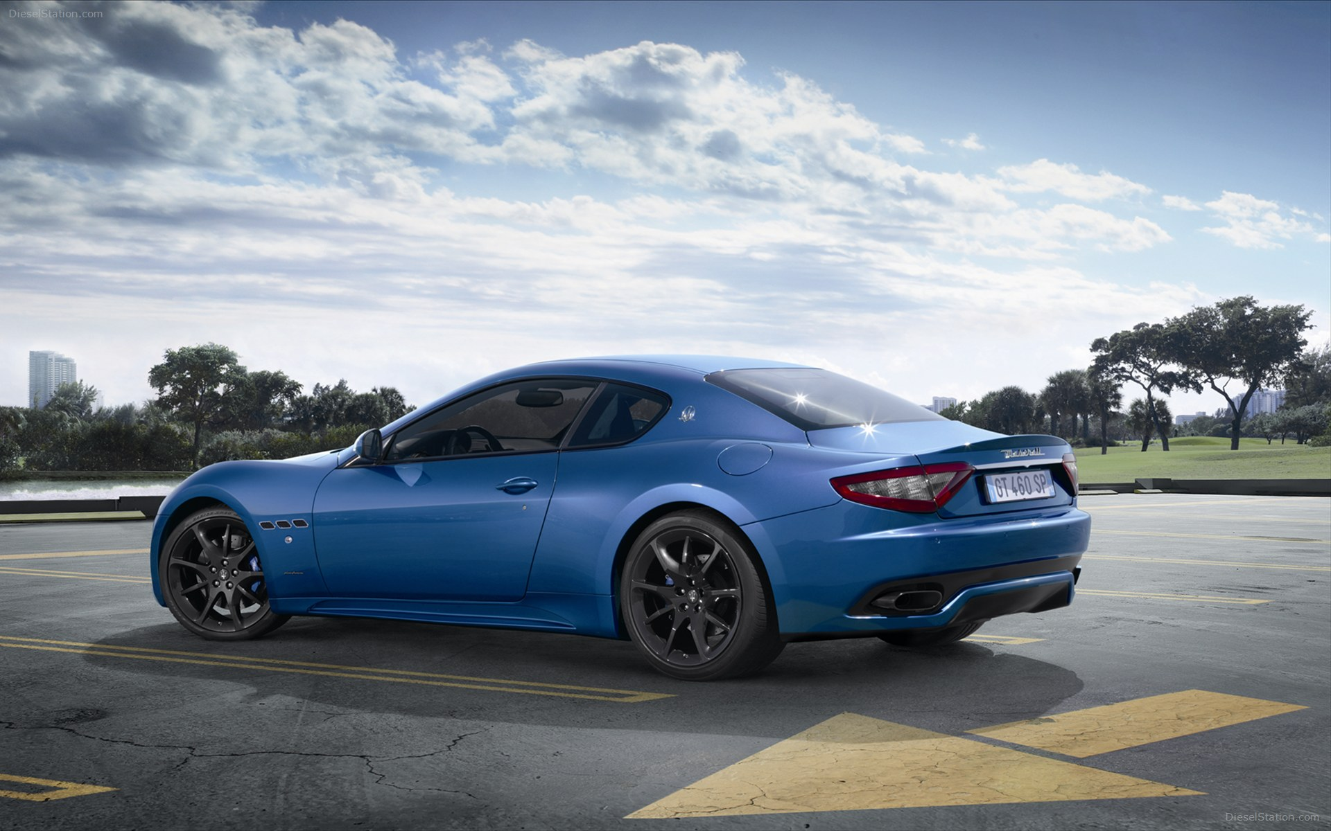 Sport Maserati Granturismo Widescreen Albums wallpapers HD 1920x1200