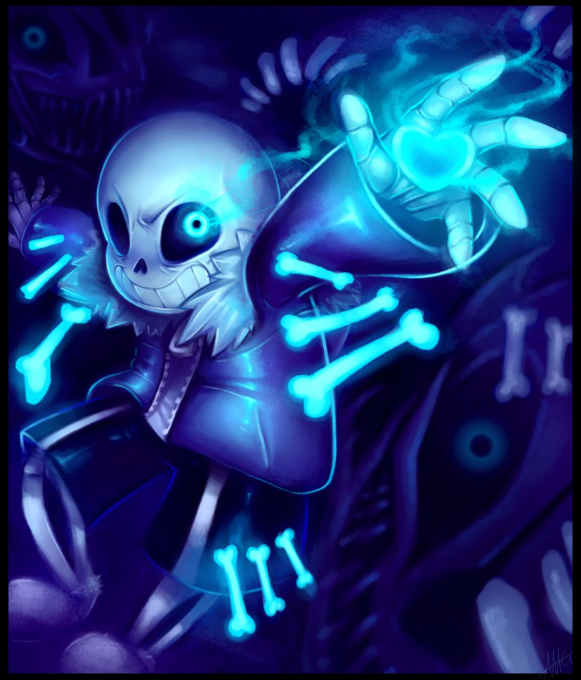 Sans   Undertale   Youre gonna have a bad time by WalkingMelonsAAA 827x967