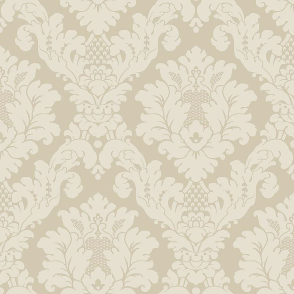 Cream And White Wallpaper