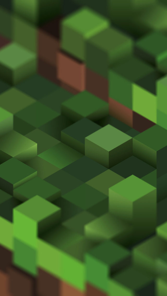 minecraft iphone wallpaper tags 3d creative game green minecraft 640x1136