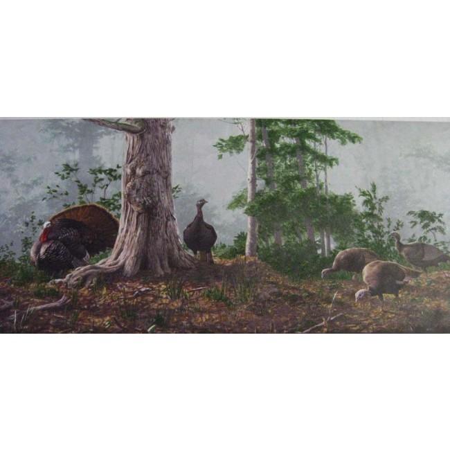 Home Hunting for Turkey Wallpaper Border 650x650