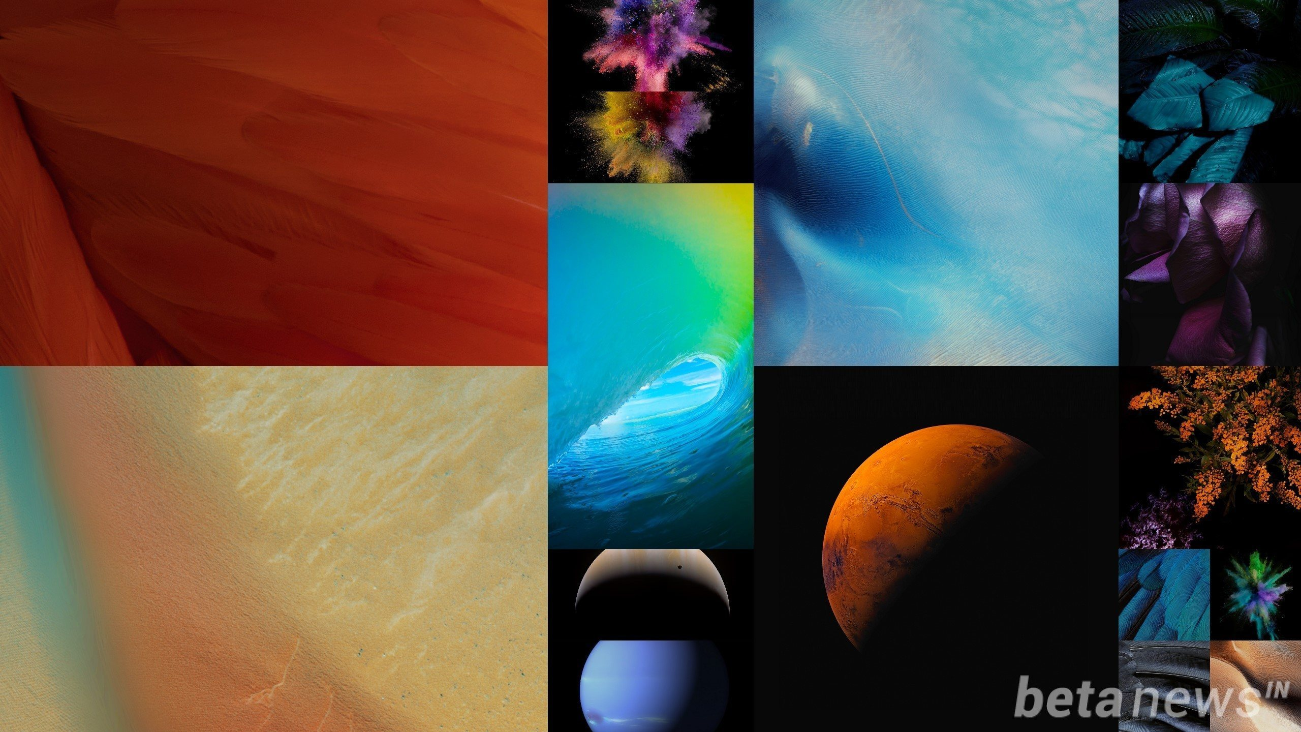 Download iOS 9 Stock Wallpapers for iPhone 6 16 Wallpapers Pack 2560x1440