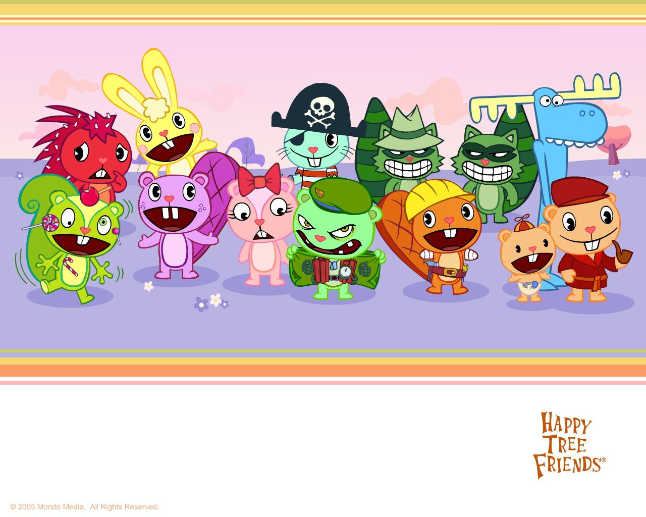 Happy Tree Friends   Happy Tree Friends Wallpaper 175505 1280x1024