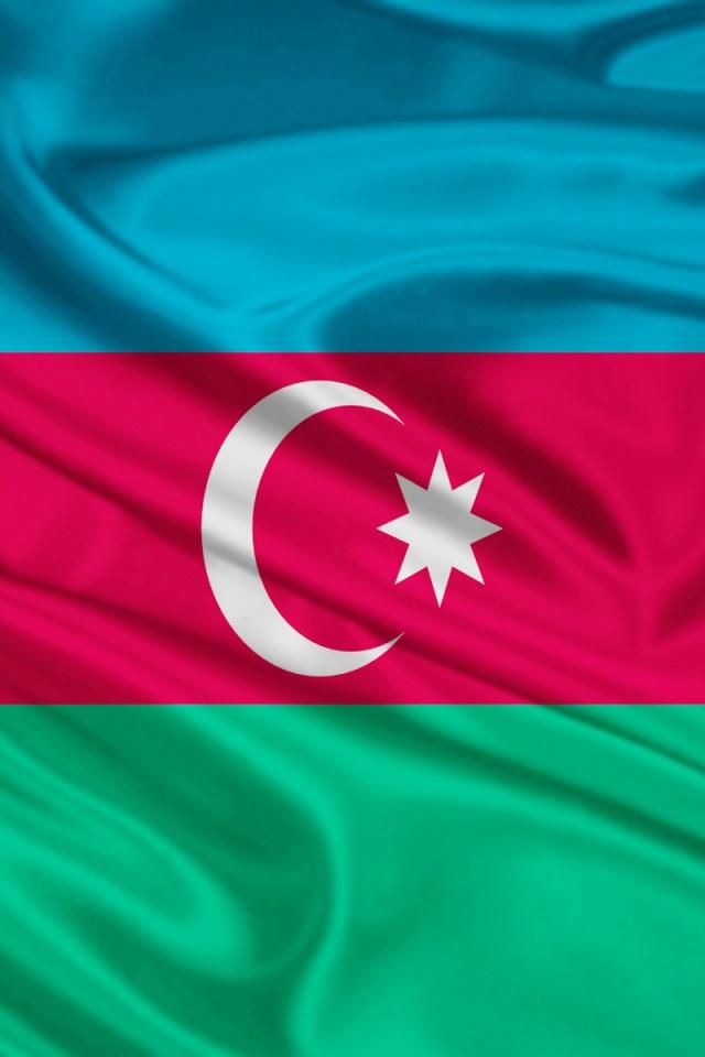 640x960 Azerbaijan Flag Iphone 4 wallpaper 640x960