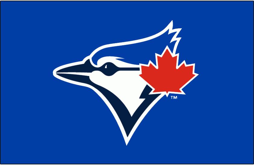 Toronto Blue Jays Batting Practice Logo 2012   Blue Jays logo on 843x547