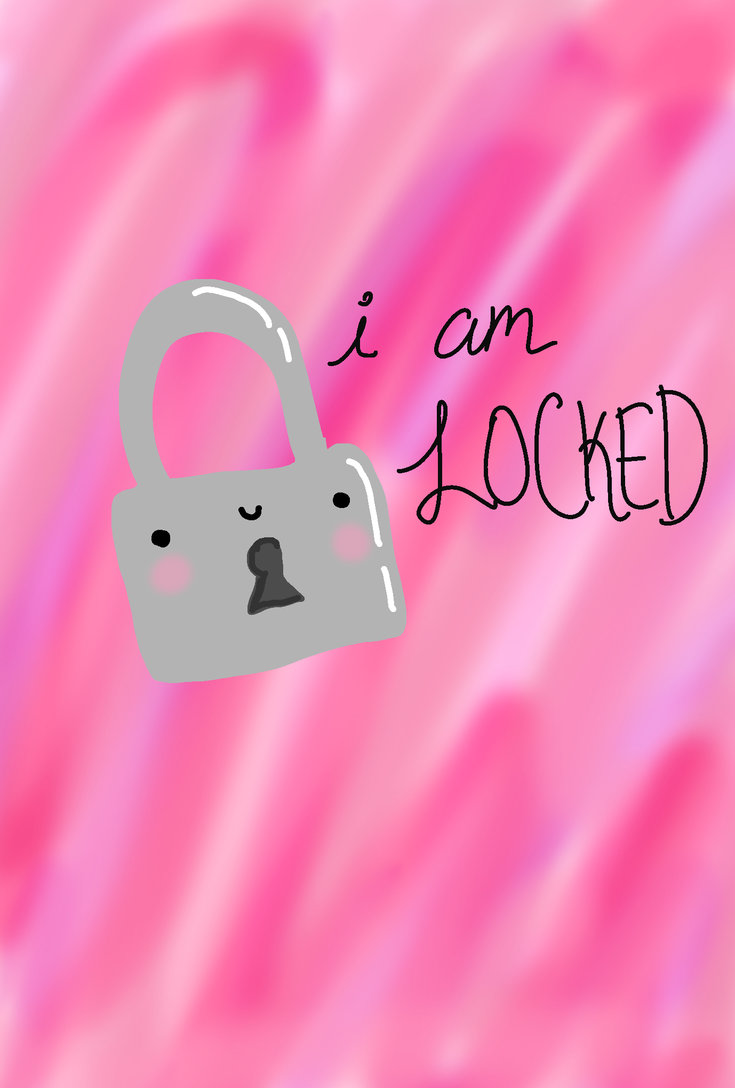 Am Locked iPhone Wallpaper by KissOfVictoria on DeviantArt