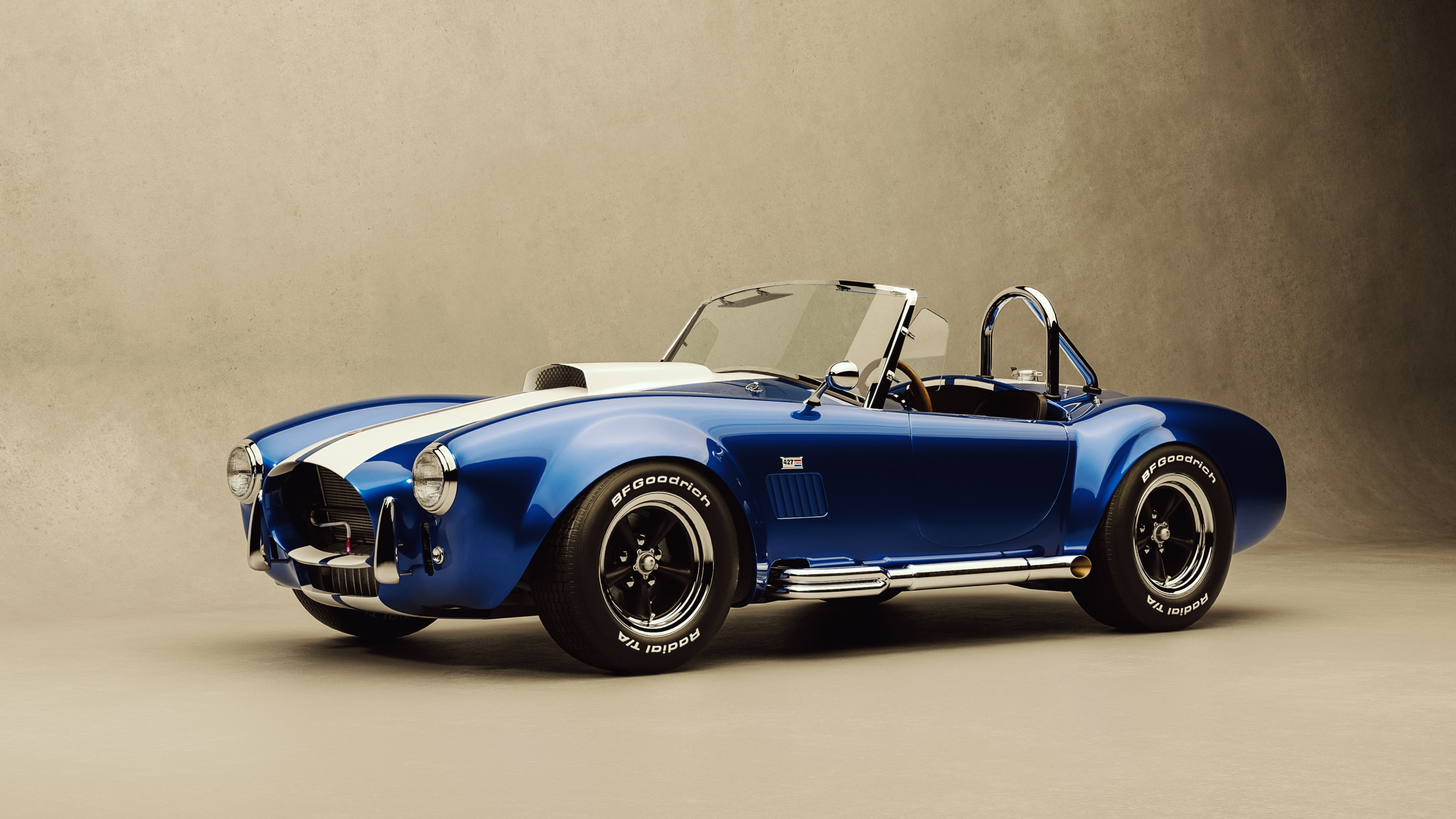 Car Vintage Ford Shelby Cobra 427 HD Wallpapers 4K Wallpapers 3840x2160
