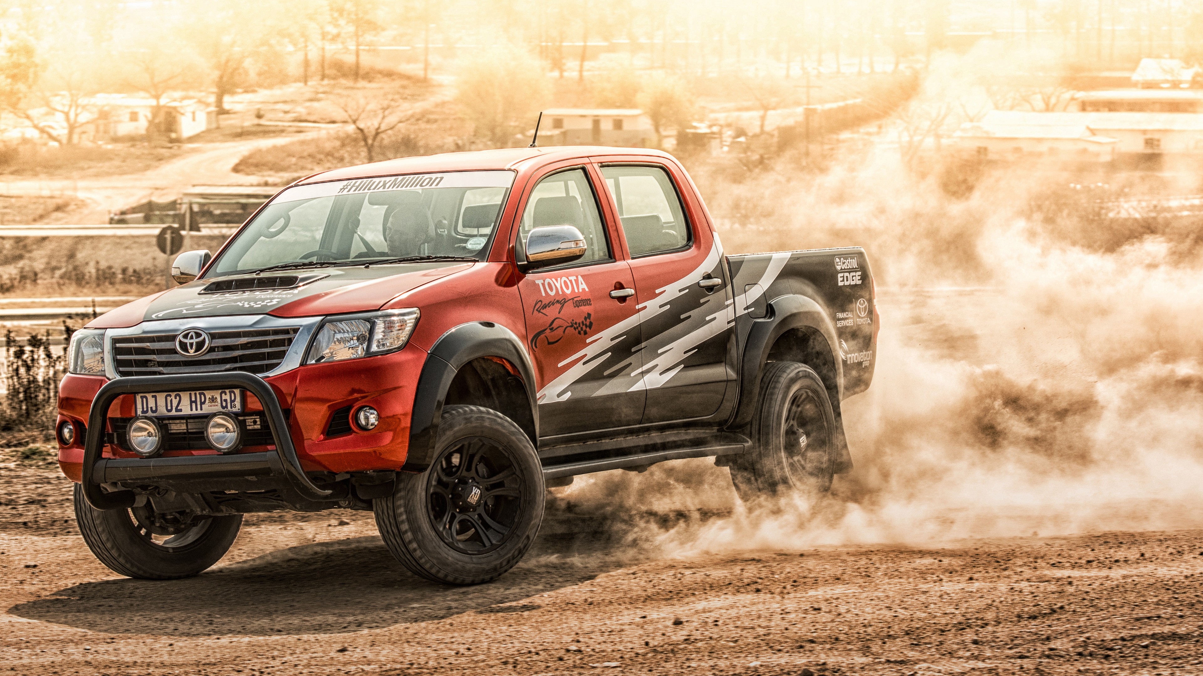 Toyota Hilux Wallpapers and Background Images   stmednet 3840x2160