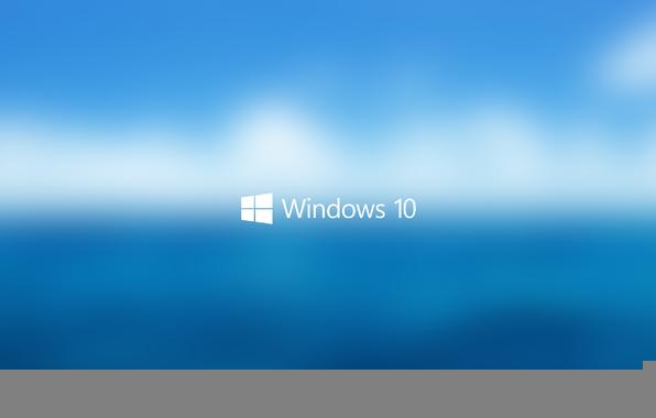 Wallpaper windows 10 hi tech logo start up macro background 596x380