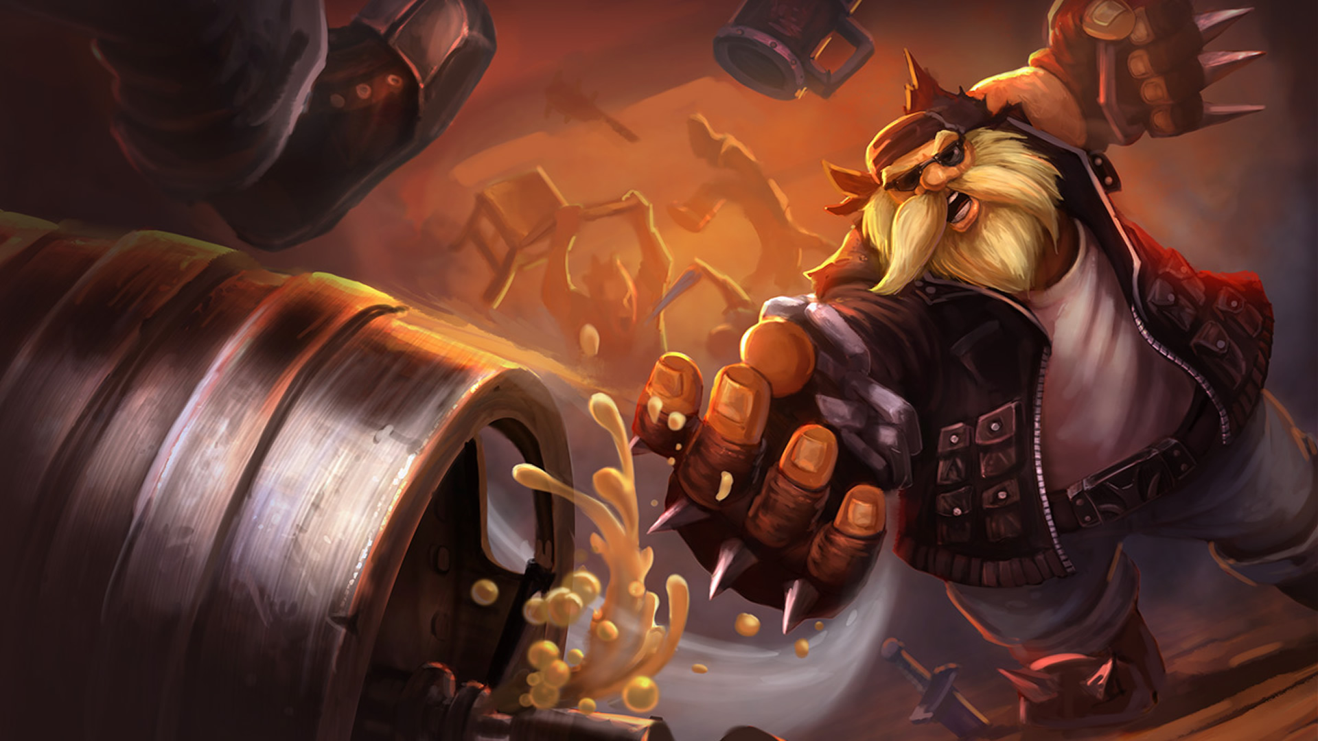 Vandal Gragas Wallpaper   LeagueSplash 1920x1080