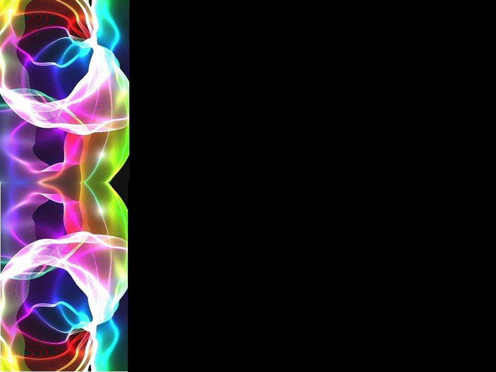 Neon Rainbow Background Designs Neon left border background 1024x768