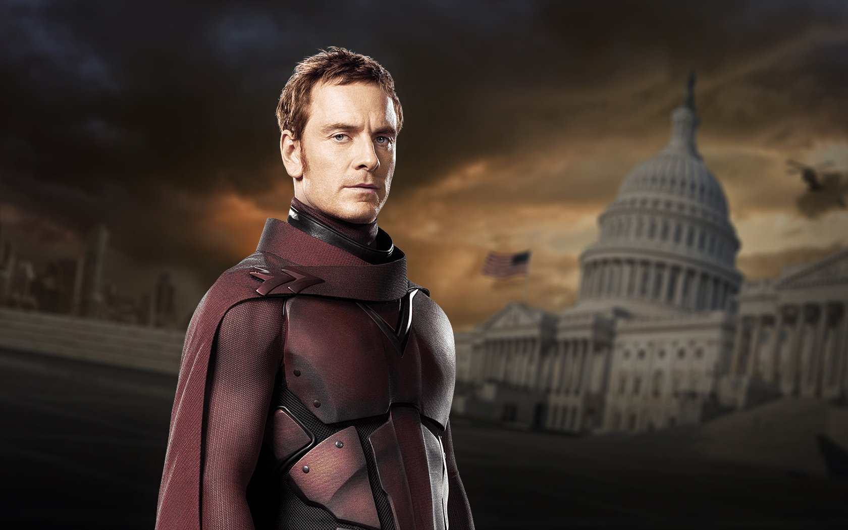 Young Magneto Played By Michael Fassbender Wallpaper and 1680x1050