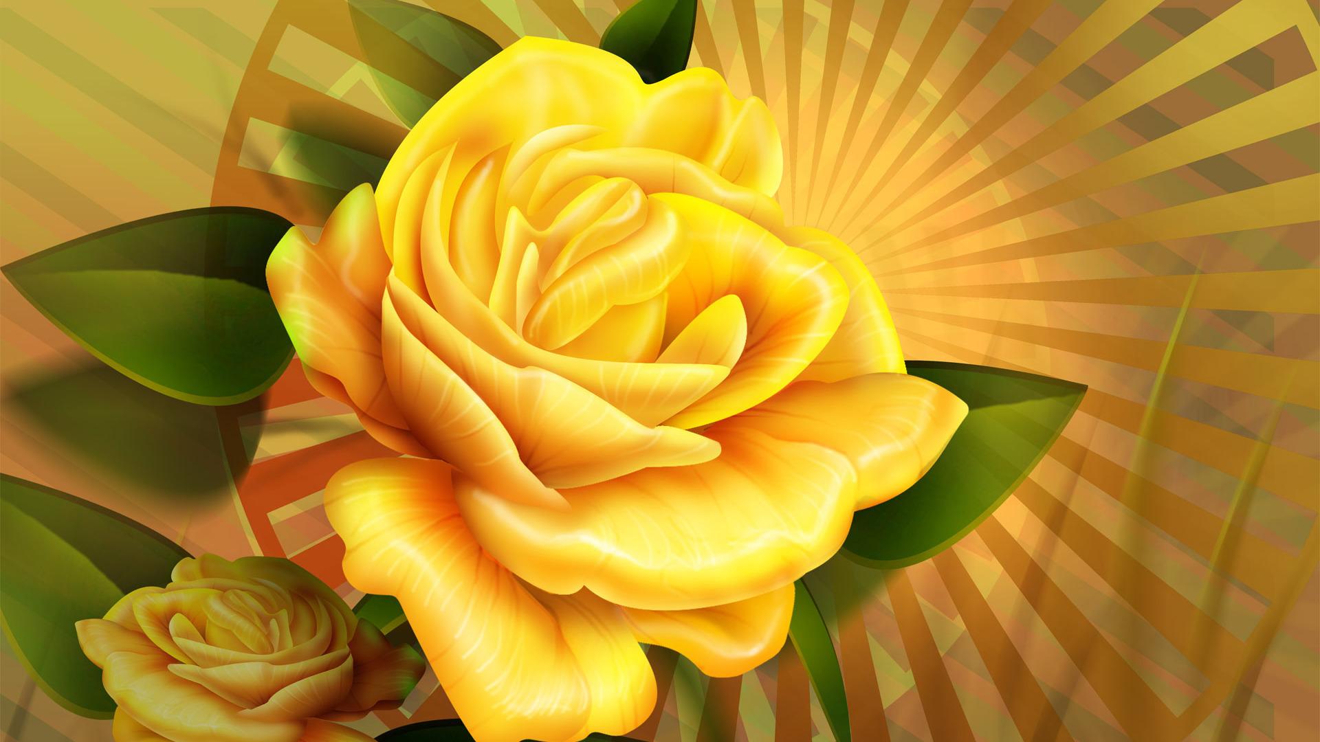 Yellow Roses Desktop Wallpaper WallpaperSafari
