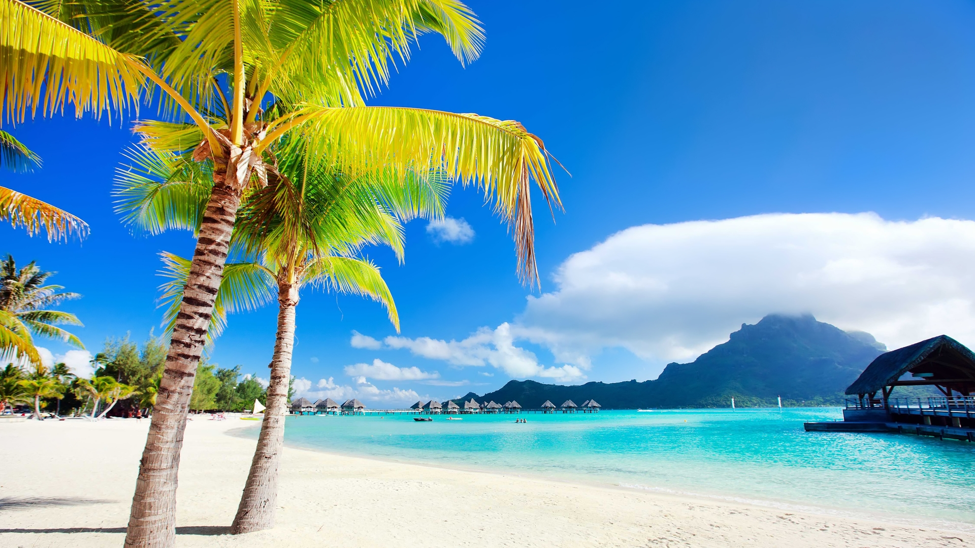 Bora Bora Island High Definition Wallpaper   Travel HD Wallpapers 1920x1080