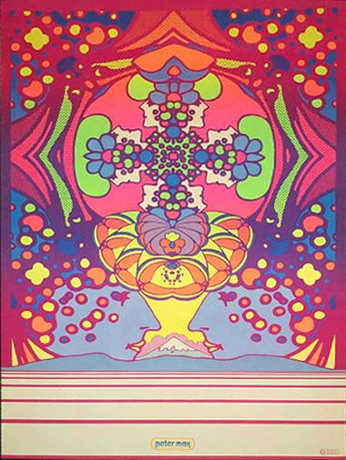 Peter Max   Hot Girls Wallpaper 380x506