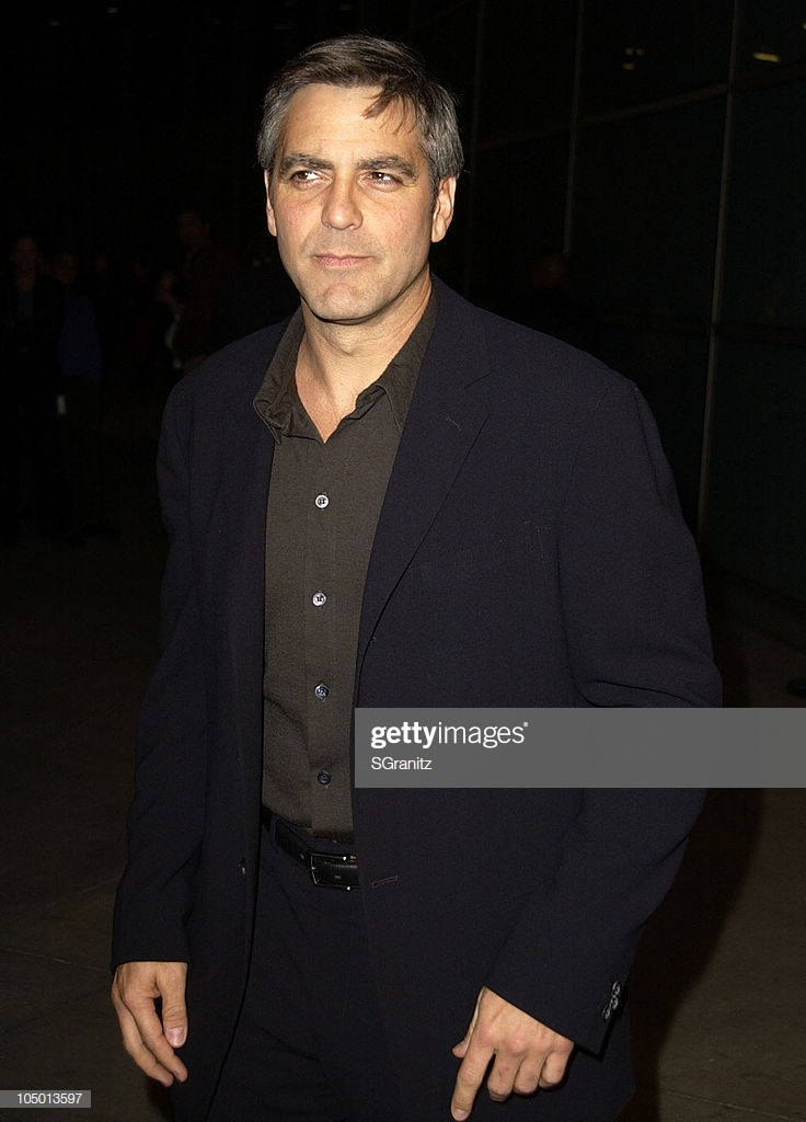 George Clooney during Solaris Los Angeles Premiere at Pacific 736x1024