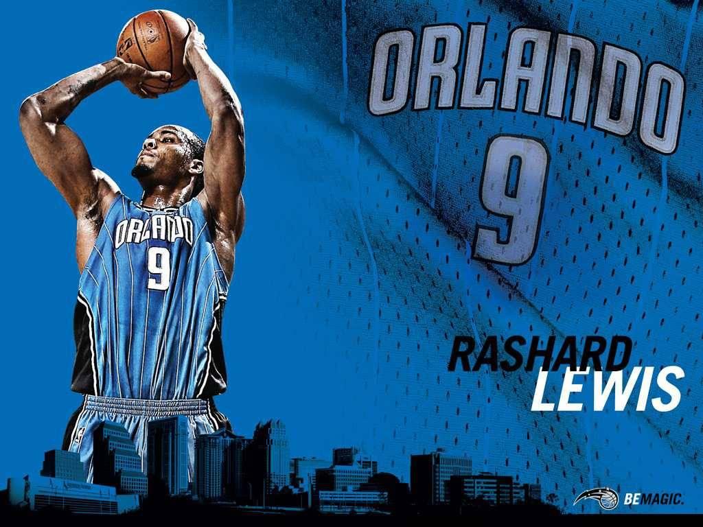 NBA Magic Rashard Lewis Wallpaper   Orlando Magic Wallpaper 1024x768