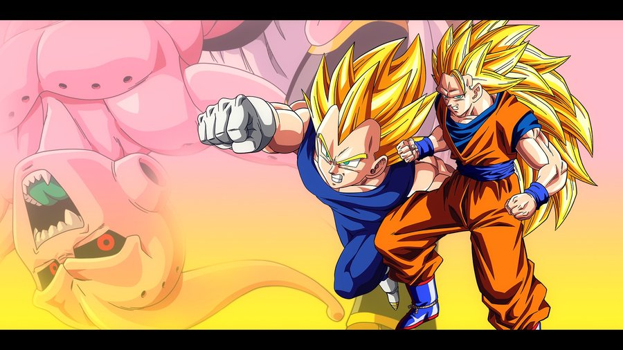 Free Download Vegeta And Goku Vs Buu Dbz Wallpaper 19201080 By Oirigns On 900x506 For Your Desktop Mobile Tablet Explore 49 Dbz Wallpaper Goku And Vegeta Dragon Ball Z