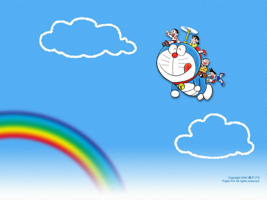 DORAEMON wallpaper 1024x768
