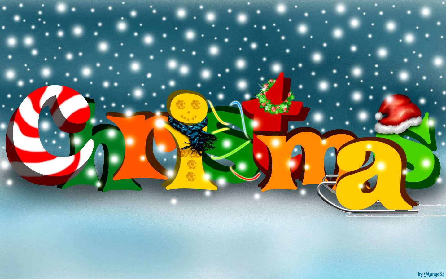 Wallpapers   Christmas wallpaper 1440x900