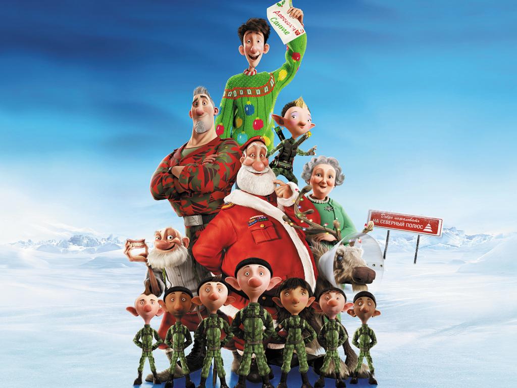 Download 1024x768 Wallpaper Arthur Christmas Animated Movie 2011 1024x768
