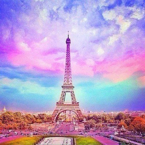 Paris In Pink Wallpaper Wallpapersafari